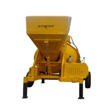350L portable diesel or electric drum concrete mixer