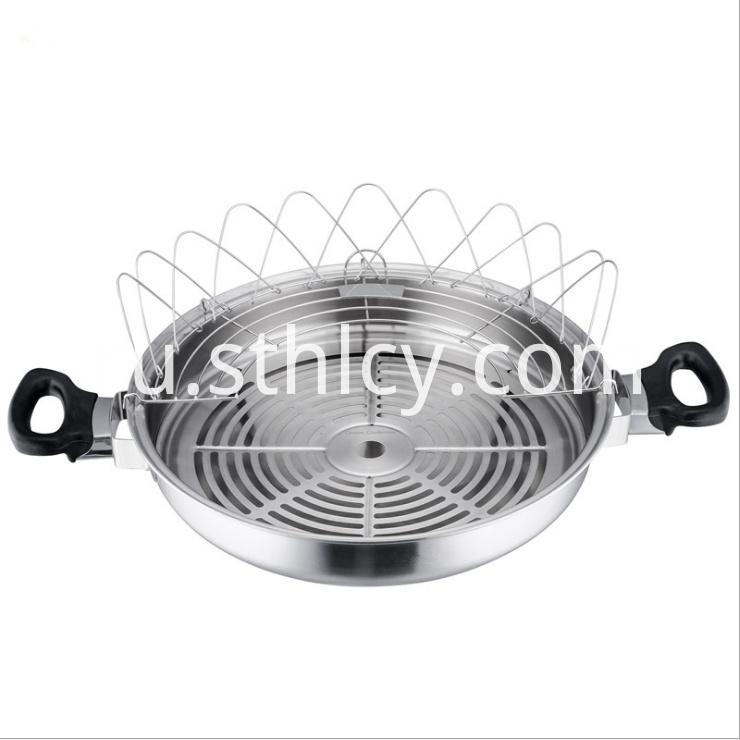Multipurpose 35cm Chinese Style Fry Pan3