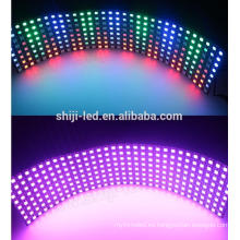 8 * 32 cm SK6812 pixel direccionable smd5050 rgb llevó la luz del panel