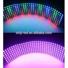 8 * 32cm SK6812 pixel adressable smd5050 rgb a mené la lumière de panneau
