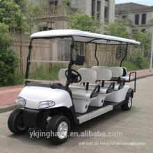 beliebter Golfwagen für 4 Personen mit Gas- oder Batterieleistung