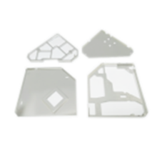 Metal detector shielding parts