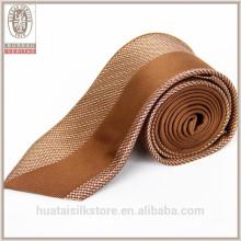 La doublure de laine en gros Impression sur mesure Créez votre propre cravate en soie