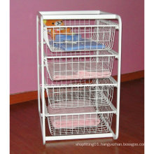 Free Standing Clothes Storage Basket (LJ4016)