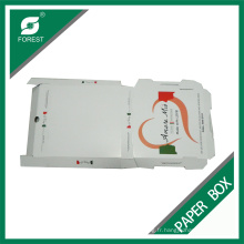 Boîte de pizza de couleur faite sur commande bon marché d'usine à Changhaï