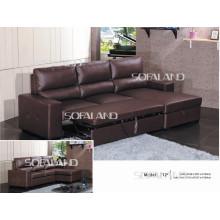 Sofá-cama de luxo expandido em móveis (712 #)