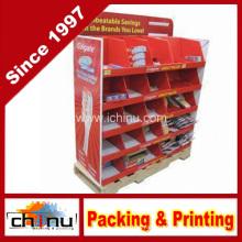 Cardboard Corrugated Pallet Rack Display (6118)