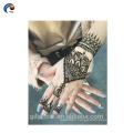New Henna Stencils Design Welcomed by Human, Custom Temporary Tattoo Sticker