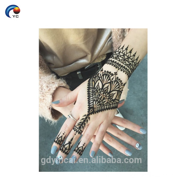 New Henna Stencils Design Welcomed by Human, Custom Temporary Tattoo Sticker