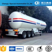 Equipo de transporte de gas semi-remolque LPG 60000 litros