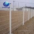 Export nach Japan Kraftwerk geschweißte Gitter Zaun Gartenzaun PVC beschichteten Drahtzaun