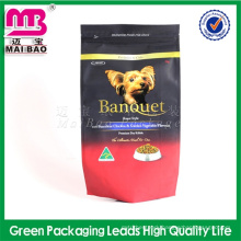 favorable price for custom puppy food plastic printed bags