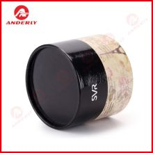 Eco-friendly Cosmetic Packaging Paper Tube Gift Round Box