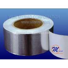aluminium foil Heat-sealing tape, Reflective And Silver Roofing Material Aluminum Foil Faced Lamination