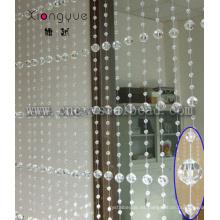 Cortina de cristal de grano cristalino Garland diamante Strand