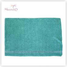 Chiffon de nettoyage de tissu de tricotage de microfibre et de chaîne de 40 * 60cm