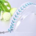 Bracelets populaires fantaisie bracelet bleu pour cadeau de noël