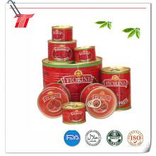 Pasta de tomate de 4,5 kg enlatada con la marca Fiorini