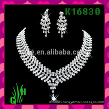 The european and american neck chain, rhinestone wholesale statement necklace