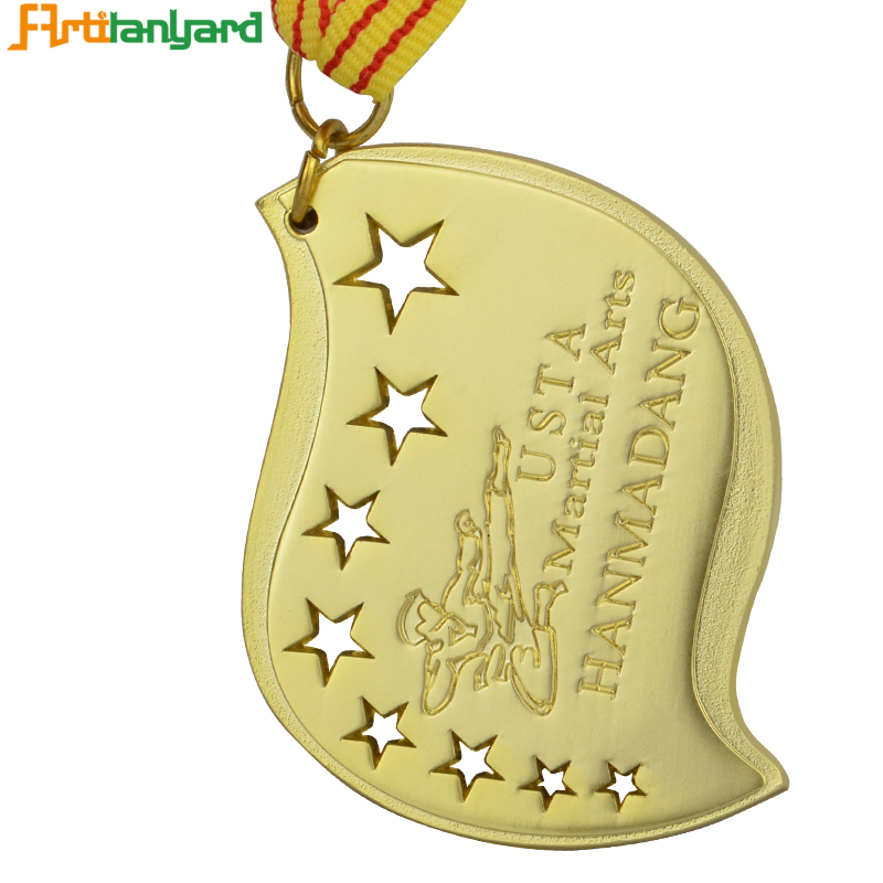 Owner Logo With Gold Medal