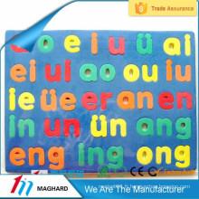Puzzle d'alphabet lettre en mousse EVA magnétique chinois pour enfants