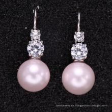 pendientes de perlas de diseño nuevos hechos a medida con buena calidad