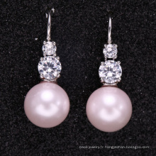 boucles d'oreilles faites sur commande de nouvelle conception de perle avec la bonne qualité