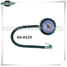 Portabrocas con clip, cuerpo de plástico, indicador de tipo neumático, manómetro con manguera flexible