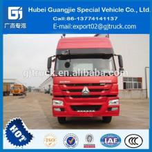 cabeça do trator usado / segundo caminhão do trator / estoque cabeça caminhão trator / trator em estoque / HOWO estoque trator Sinotruk HOWO trator, caminhão trator HOWO, caminhão Sinotruk HOWO, HOWO 6X4 caminhão trator, 266hp, 290hp, 336hp, 371hp