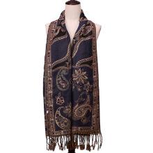 Foulard jacquard Mode hiver Pashmina