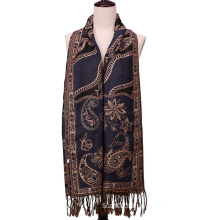 Jacquard Scarf Winter Fashion Pashmina
