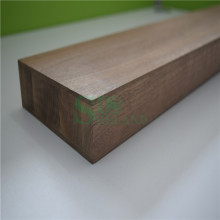 Amerikanischer Nussbaum Solid Edge Panel für Dekoration geklebt