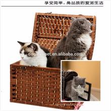 Gaiolas de estimação de vime de alta qualidade e conveniência gaiolas de gato barato cat gaiolas de show de gato