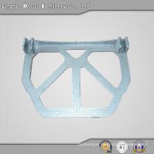 Pedestal de fundición a presión de aluminio con mecanizado