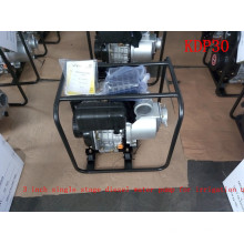 3 Inch Single Stage Recoil Iniciar Centrífuga Air-Cool Diesel Water Pump para irrigação agrícola