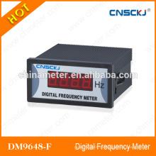 96 * 48mm certificação CE medidores de frequência digital hz