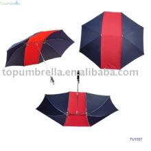 Cinco paraguas plegables 5 para 2 personas
