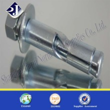 Carbon Steel Gr4.8 Zinc Plated Anchor Bolt