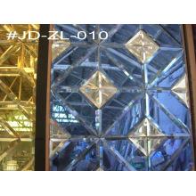Decoración de la pared Azulejo del espejo del cristal (JD-ZL-010)