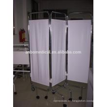 Mobiliario Hospitalario Plegable de hospital Cama de la cortina de la pantalla de la cama