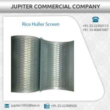 Export Qualität Reis Huller Bildschirm in verschiedenen Dicke von renommierten Herstellern