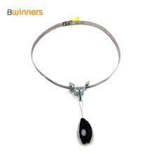 Abrazadera de alambre de plástico Abrazadera de anclaje de tensión de cable de fibra óptica para accesorios FTTH / FTTH