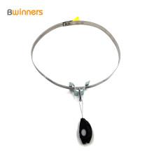 Braçadeira plástica da braçadeira da âncora da tensão do cabo de fibra óptica da braçadeira para acessórios de FTTH / FTTH