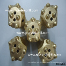T45 Threaded Button Bits