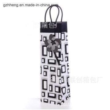 Acheter un sac à provisions en plastique avec une poignée de clip (sac en PVC / PE)