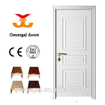 CE Standard Classic Design White Room Wooden Door