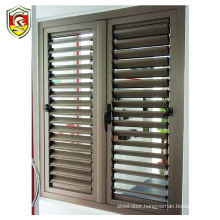 Commercial building decorative exterior aluminium louvre window blinds