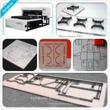 Cheap Laser Wood Cutting Machine High Accuracy and 35m/hour Syngood SG1218