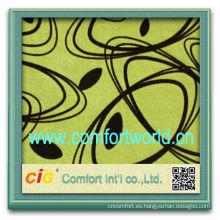 Forme el nuevo material colorido casero de la tela de la multitud de la materia textil de los productos del hogar para el sistema del sofá
