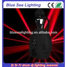 Robo scanner luz rolo 132w 200w 230w 2r 5r 7r tambor dj iluminação scanner